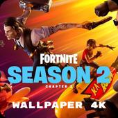Wallpapers for Fortnite skins, fight pass season 9