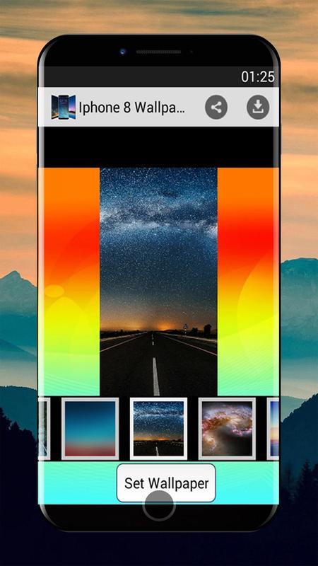 Android Için Iphone 8 Plus Duvar Kağıtları Iphone X Apkyı