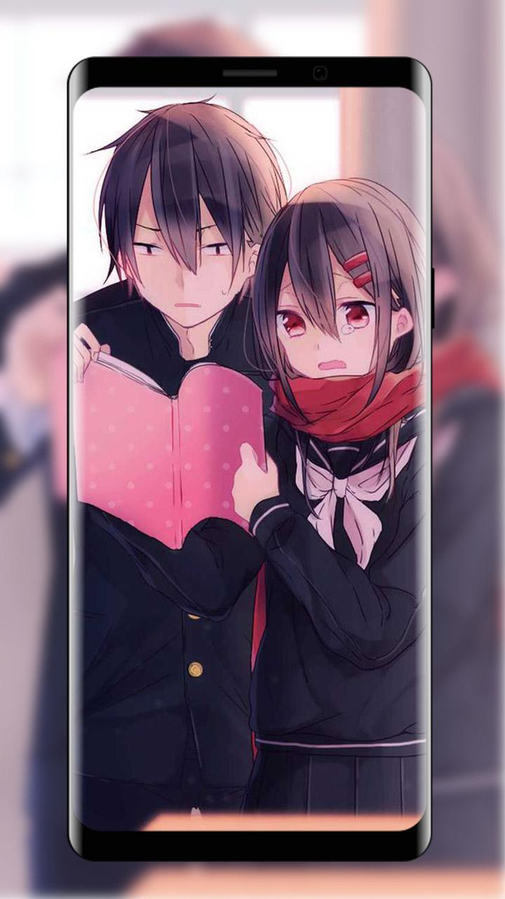 Cute Anime Couple Wallpaper For Android APK Download