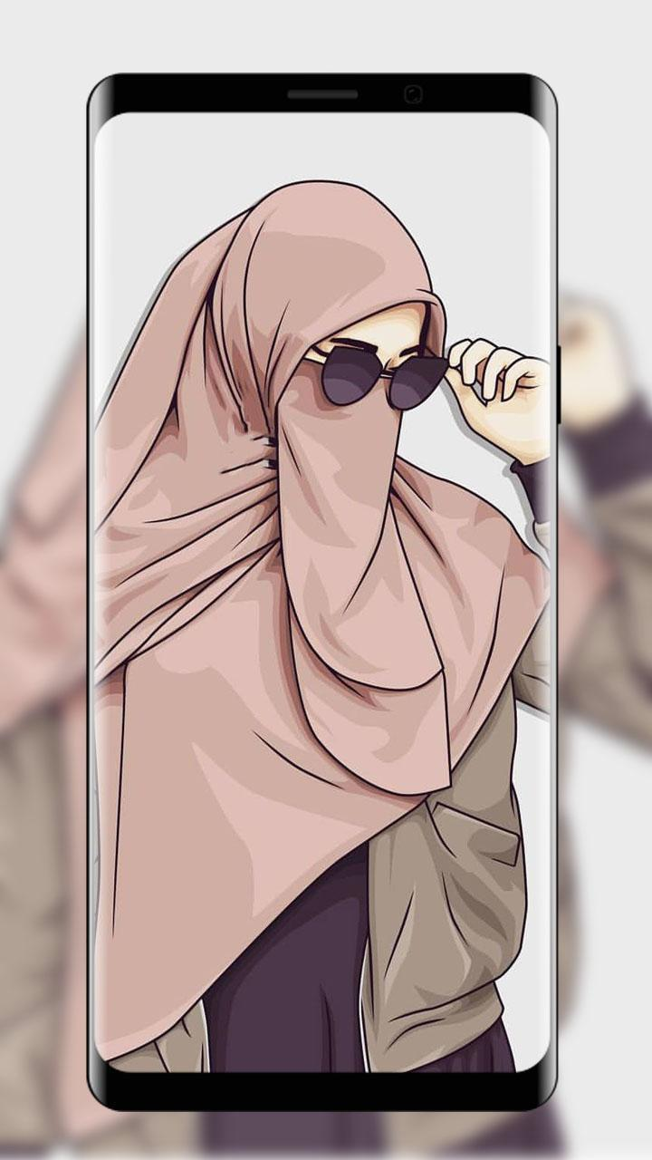 Hijab Wallpaper Kartun Muslima For Android APK Download