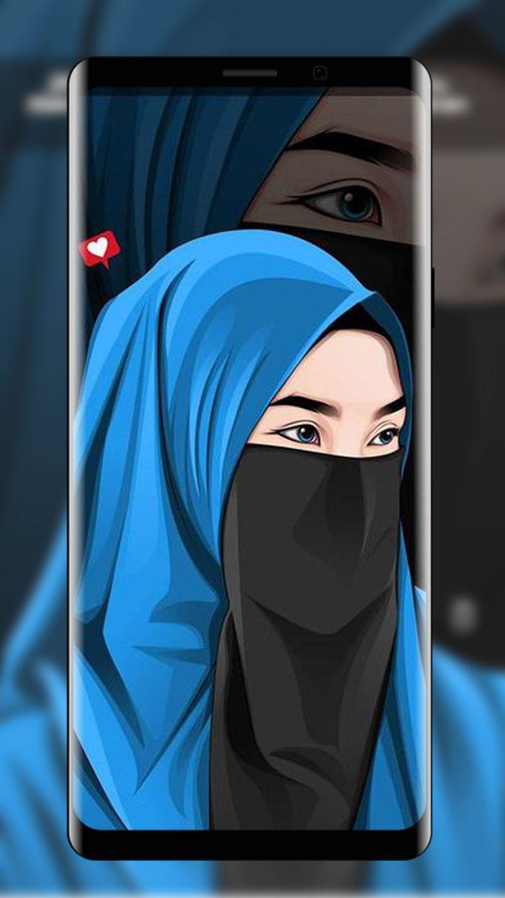 Hijab Wallpaper Kartun Muslima For Android Apk Download