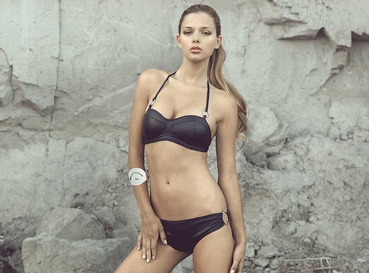 Latin girls on the beach nude