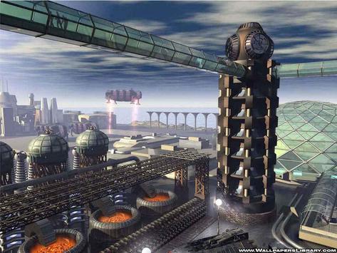 Future City Wallpapers HD screenshot 2