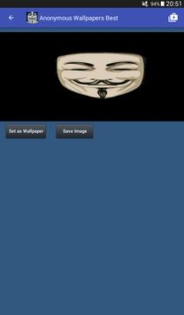 Anonymous Hacker Wallpapers screenshot 13