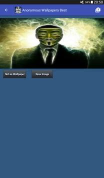 Anonymous Hacker Wallpapers screenshot 16