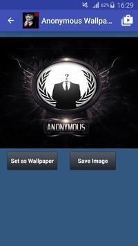 Anonymous Hacker Wallpapers screenshot 1