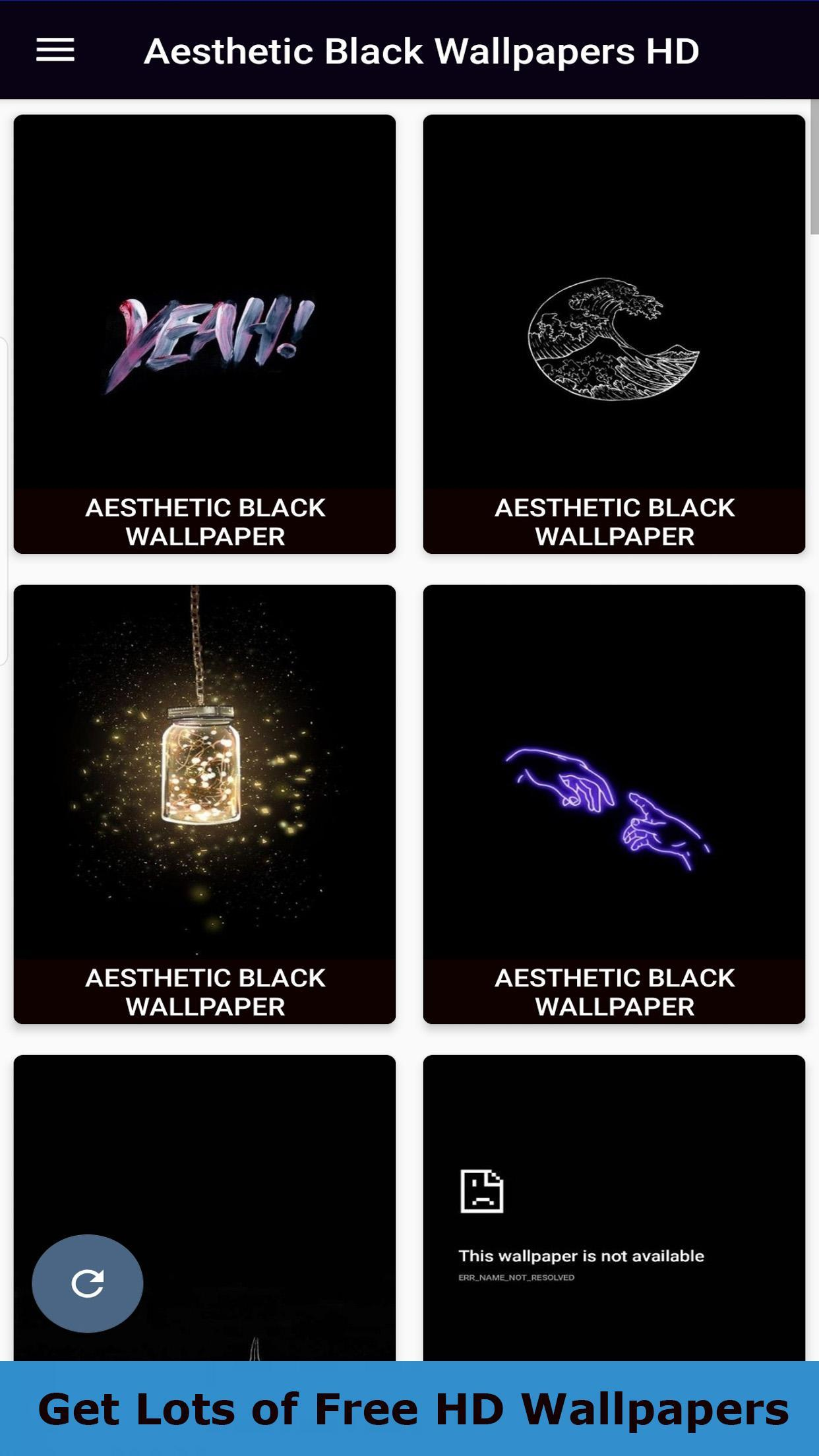 Aesthetic Black Wallpaper Hd For Android Apk Download