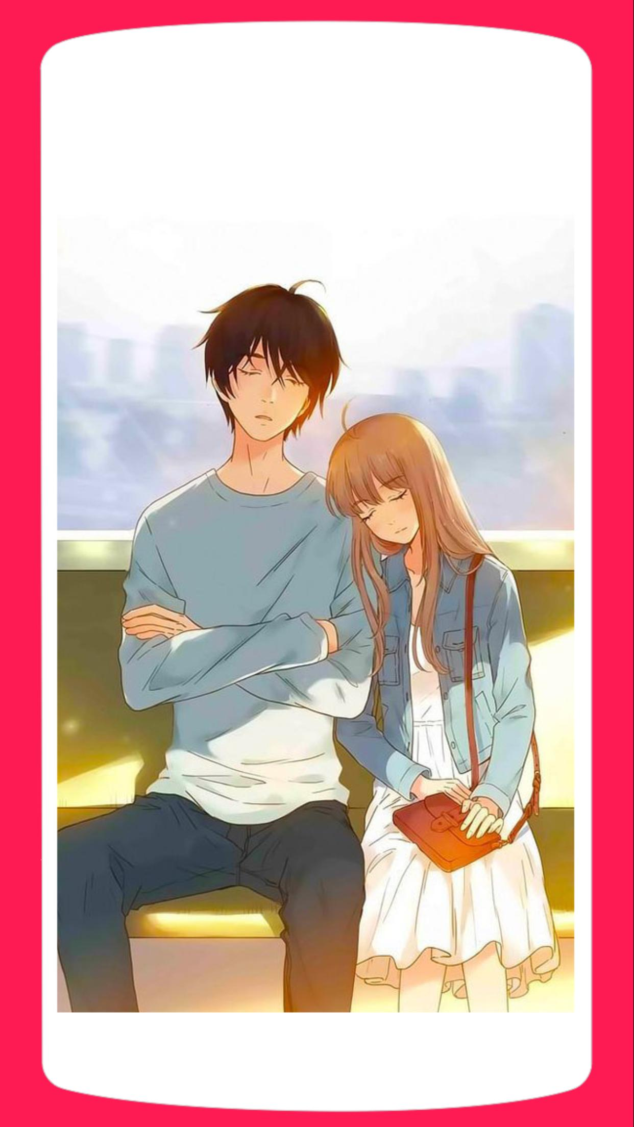 Romantic Anime Couple Wallpaper HD for Android - APK Download