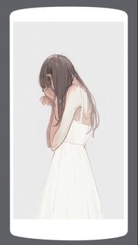 HD Sad Anime Wallpaper screenshot 7