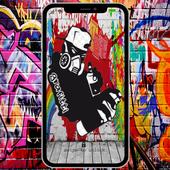 Graffiti Wallpapers | AMOLED Full HD icon