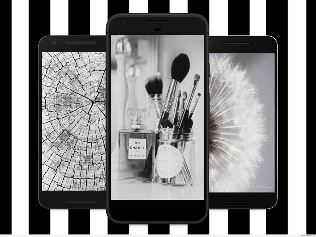 Black White Wallpapershome Screen And Backgrounds Für