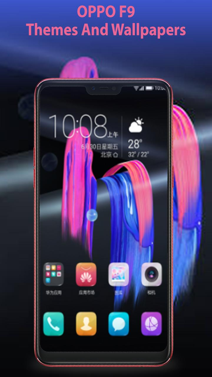 Theme For OPPO F9 Launcher Theme And HD Wallpaper For