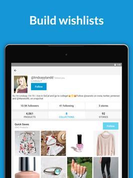 Wanelo screenshot 8