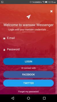 Messenger for Wansaw screenshot 9