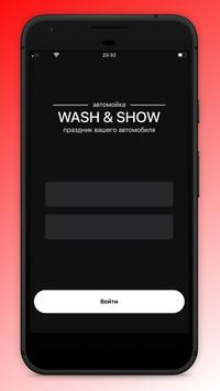 WASH & SHOW poster