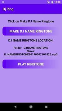 DJ Name Ringtone Mixer screenshot 4