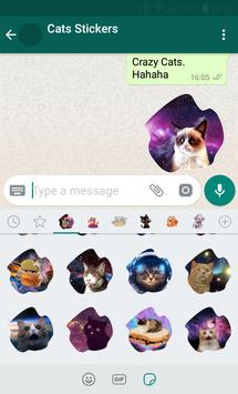 New WAStickerApps 😻 Cat Stickers For Chat poster