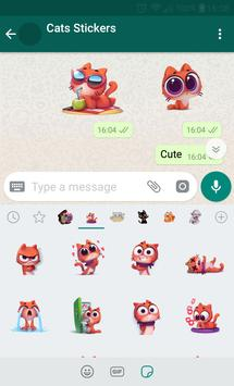 New WAStickerApps 😻 Cat Stickers For Chat скриншот 2
