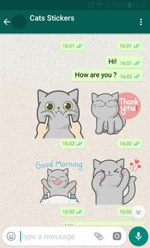 New WAStickerApps 😻 Cat Stickers For Chat screenshot 3