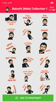 Balochi Stickers For Whatsapp screenshot 11