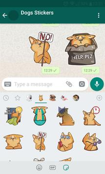WAStickerApps - Dog Stickers 🐶 تصوير الشاشة 9