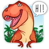 New WAStickerApps - Dinosaur Stickers For Chat