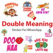 Double Meaning Sticker For Whatsapp icon