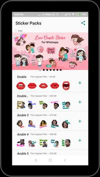 Double Meaning Sticker For Whatsapp poster