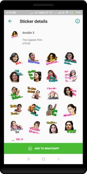 Double Meaning Sticker For Whatsapp screenshot 1