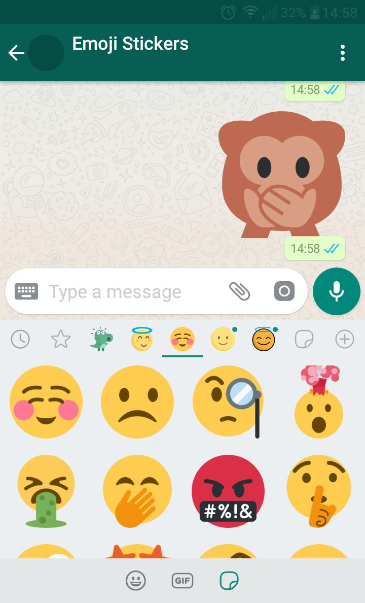 New WAStickerApps 😂 Emoji Stickers For WhatsApp for Android