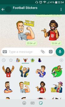 Football Stickers screenshot 2