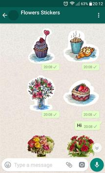 New WAStickerApps 🌹 Flower Stickers For WhatsApp screenshot 11