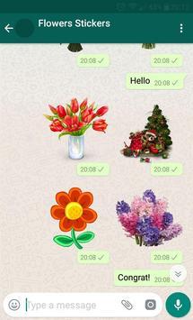New WAStickerApps 🌹 Flower Stickers For WhatsApp screenshot 2