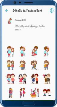 WAStickerApps Kiss Stickers screenshot 5