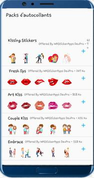 WAStickerApps Kiss Stickers poster