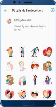 WAStickerApps Kiss Stickers screenshot 1