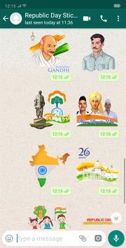 Republic Day Stickers screenshot 4