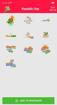 Republic Day Stickers screenshot 11