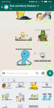 Rick and Morty WAStickerApp [UNOFFICIAL] screenshot 1