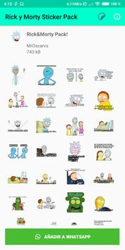 Rick and Morty WAStickerApp [UNOFFICIAL] screenshot 2