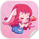 New WAStickerApps 😍 Girly Stickers For WhatsApp APK