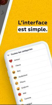 New stickers et emoji pour WhatsApp, WAStickerApps capture d'écran 4