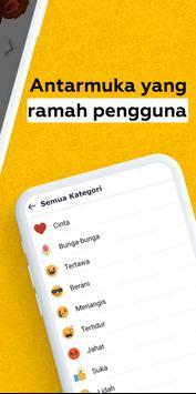 New Love Stickers untuk WhatsApp - WAStickerApps syot layar 4