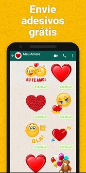 Adesivos para WhatsApp, GIF emojis - WAStickerApps Cartaz