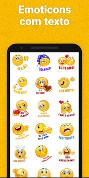 Adesivos para WhatsApp, GIF emojis - WAStickerApps imagem de tela 1