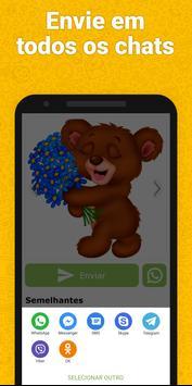 Adesivos para WhatsApp, GIF emojis - WAStickerApps imagem de tela 5