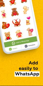 New Stickers & Emoji for WhatsApp - WAStickerApps screenshot 1