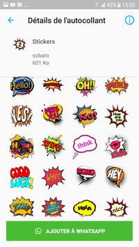 text chat stickers - WAStickerApps poster