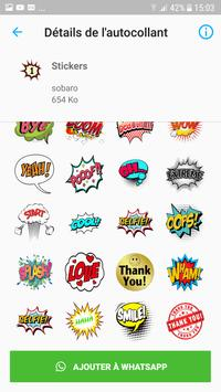 text chat stickers - WAStickerApps screenshot 2