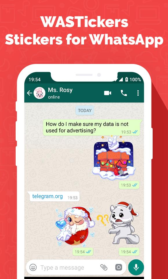 Christmas Stickers for WhatsApp 🎅 - WASTickers for Android